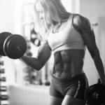woman weight lifter