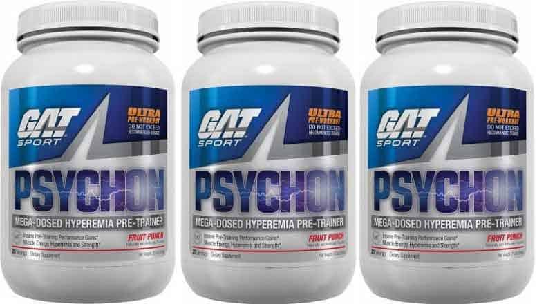 GAT Psychon pre workout
