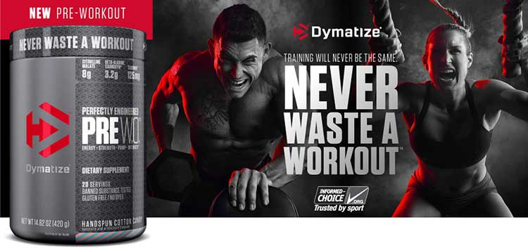 Dymatize Pre W.O how does it work