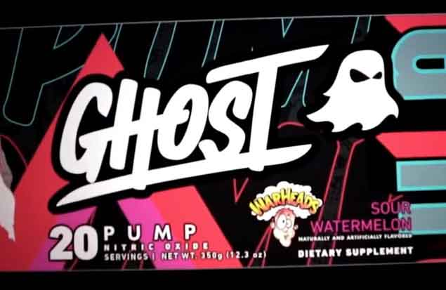 Ghost Pump label