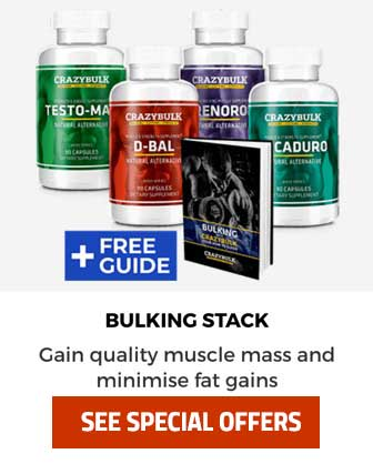 CrazyBulk bulking stacks