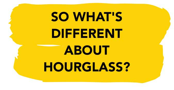 Hourglass female fat burner