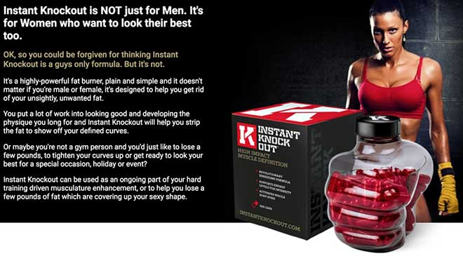 Instant Knockout for women