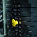 Load variation on weight machine