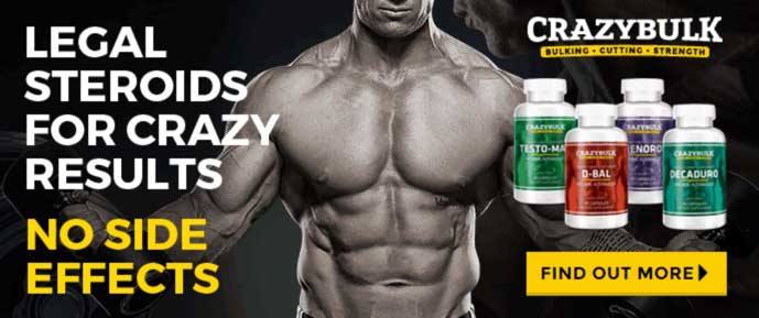 CrazyBulk - Top Selling Legal Steroids