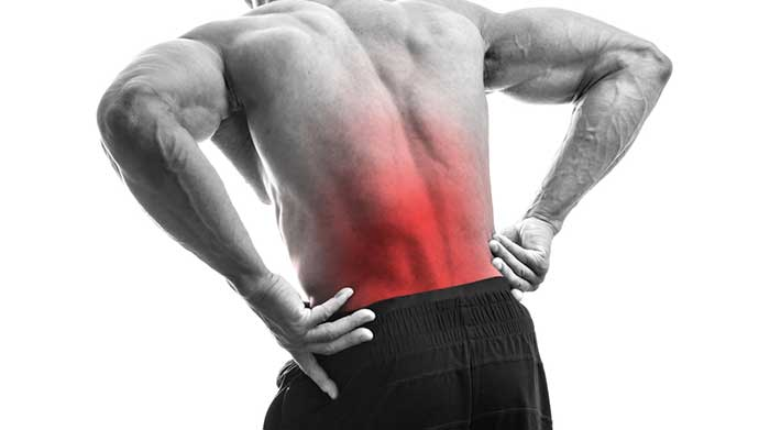 Man Training Injury