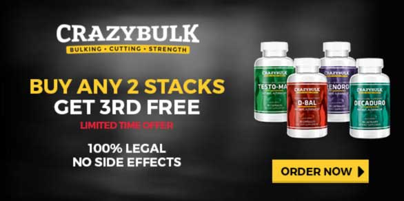 CrazyBulk stacks