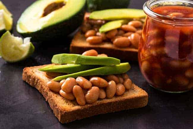 Beans on Toast for muscle mass