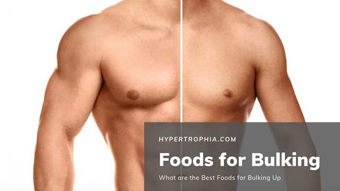Foods for bulking