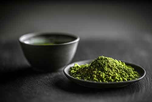 Green tea in fat burners