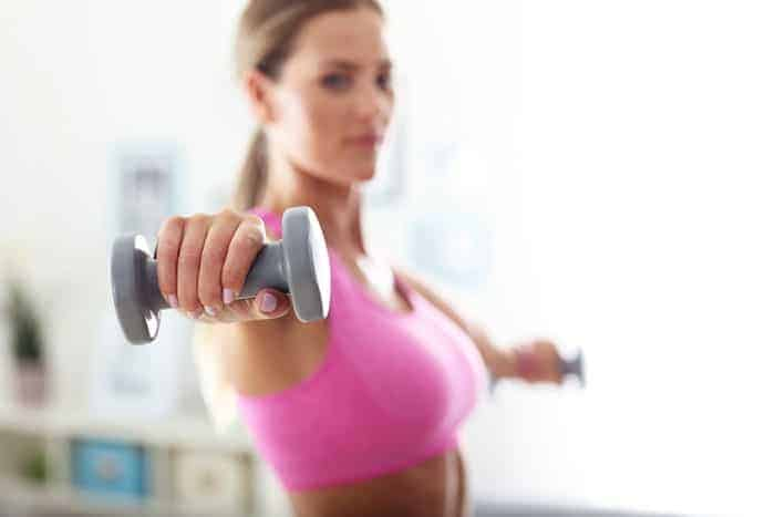 woman fat burning