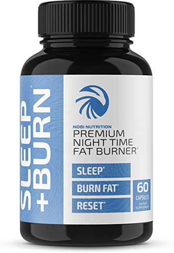 Nobi Nutrition Premium Night Time Fat Burner bottle
