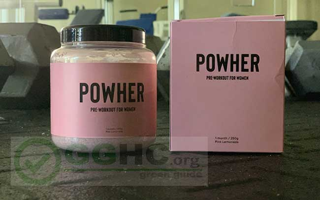 Powher pre workout review by GGHC
