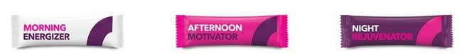 Morning Energizer, Afternoon Motivator and Night Rejuvenator