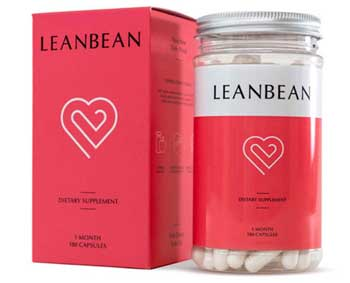 Lean Bean bottle and packaging
