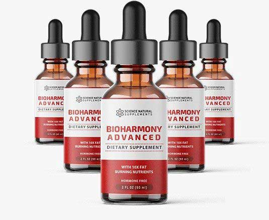 Bioharmony Advanced bottles of diet drops