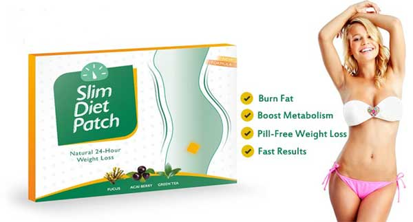 burn fat, boost metabolism with Slim Diet Patches