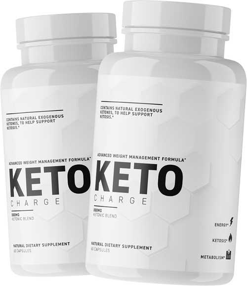 KetoCharge pills containing ketones