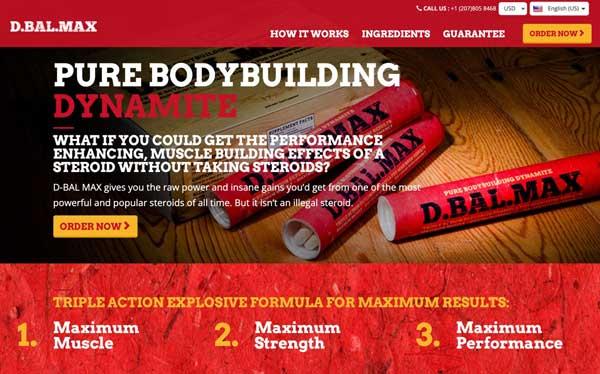 Dbal Max website