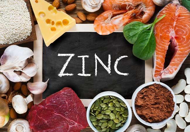 Zinc and testosterone
